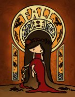 Art Nouveau FALL by cippow25