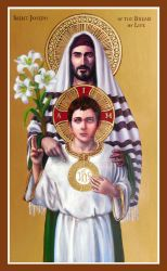 St. Joseph of the Bread of Life by Theophilia