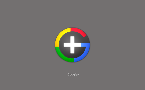 Google+ Plus Grey Wallpaper by Rahul964