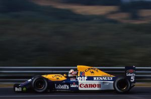 Nigel Mansell (Hungary 1992) by F1-history