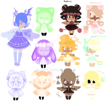 Mixed Species Adopts by Lunsyy