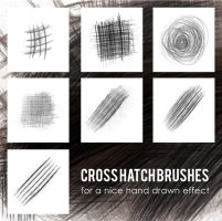 cross hatch brushes by lemosart