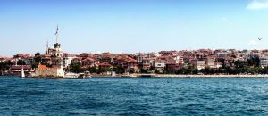 The Maiden's Tower Istanbul by Grasycho