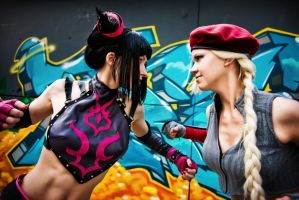 Street Fighter by adelhaid