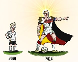 The curious metamorphosis of B. Schweinsteiger by OlaNaTungee