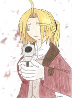 FMA - Movie Ed Gun by anime-manga-fan