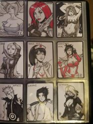 DOJ-CON ACEO cards 28-36 by SavantGuarde
