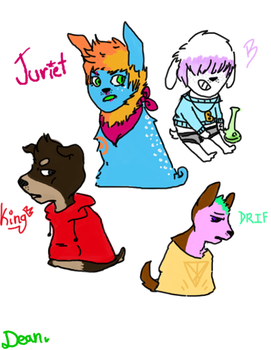 My Doges by gayspacer