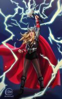 Lady Thor by Cuine