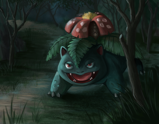 #3 Venusaur by marinasanc