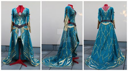 Triss Merigold dress commission by lady-narven