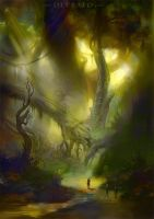 Shades of the deep forest by Sasha3