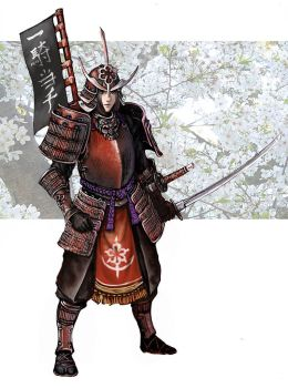 Samurai girl by Wen-M