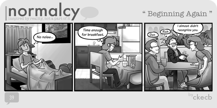 Normalcy-39:Beginning Again by NormalcyStudios