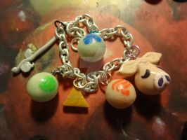 LoZ Windwaker Charm Bracelet by McMinish