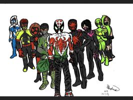 Spiderleb and the rest by Joey-GB-316