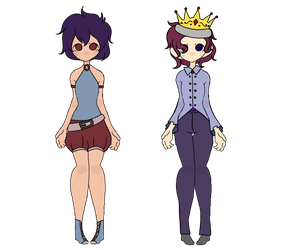 Gacha Result 'Time' and 'Royal' by Blithe-Adopts