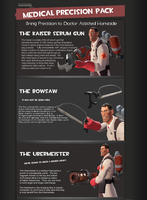 TF2 The Medical Precision Pack by PsionicRevenant