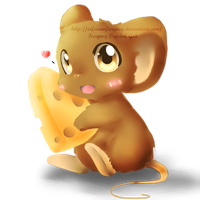 -Practice- I HAS CHEESE C: by Fierying