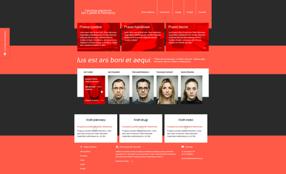 Law firm landing page by nieswiety1337