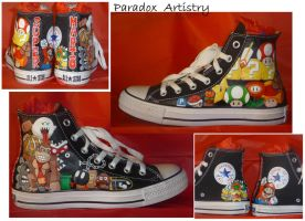Mario Shoes - DK Alteration by Paradox-Artistry