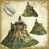 A castle On The Hill by Just-A-Little-Knotty