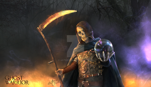 website banner: Ghost warrior by 4steex