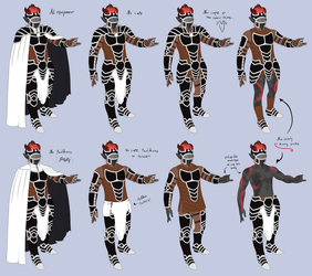 Full Ref of Ceros' Armour by Eiliakins