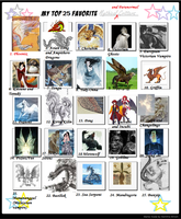 Kessie's Top 25 Mythical and paranormal  Meme fill by Roses-and-Feathers