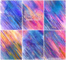 Space Storm - WATERCOLOR STOCK PACK by RoryonaRainbow