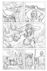 Pocahontas and John Smith Page 11 by JerMohler