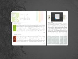 SimplePortfolio by Real99
