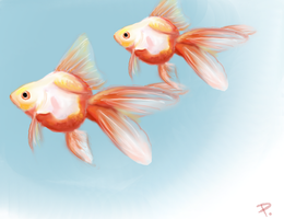 Fishies by Uncrai
