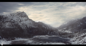 Snowy Mountains by RobertoGatto