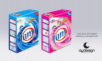 Fam Detergent Packaging Design by aydesignmedia