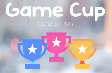Game Cup Icons by Ray by Raiiy