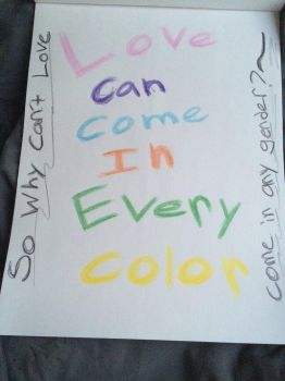 Love can be for any color and anyone. by Yaoi-LoverCharms180