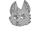 Cat YCH Headshot :20 Points: by Parayeet