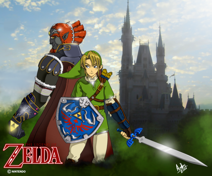 Legend Of Zelda by andystudio29