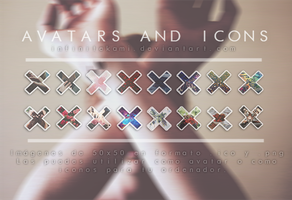 16 Avatars and Icons by InfiniteKami