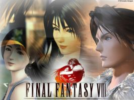 Rinoa And Squall by lauraktaylor123