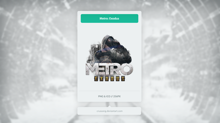 Metro Exodus - Icon by Crussong