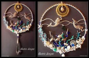 Mermaid suncatcher by illustrisdesigns