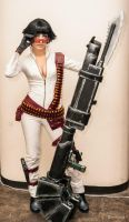 Lady - Devil May Cry 3 by Narga-Lifestream