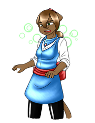 Felix Surprise Outfit - Magical Girl Neil by Tangent-Valley