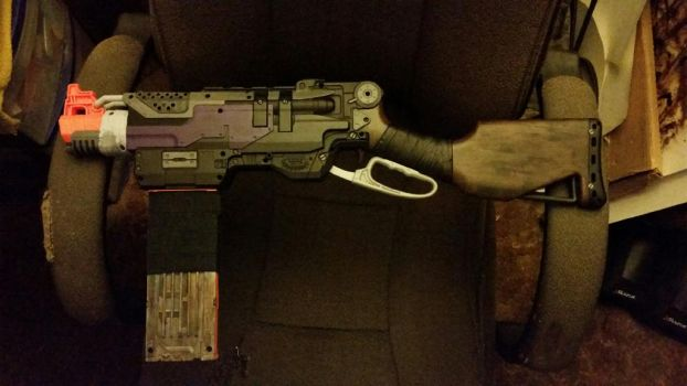 Customized nerf gun by A-IProductions