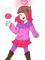 Betty [Glitchtale] by PichuuuChan