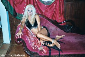 Stacy Burke - Captive Belly Dancer 1 by slamm345