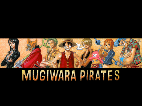 Mugiwara Pirates by aislinn87