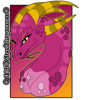Bartok the Magnificent: Dragon Ludmilla by StephDragonness